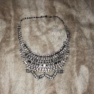 Forever 21 Stone Statement Necklace